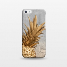 iPhone 5C  Gold Aloha Pineapple  by Utart