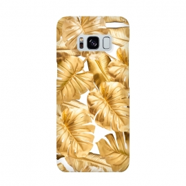Aloha Gold Monstera Jungle by Utart