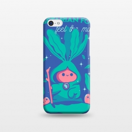 iPhone 5C  Feel the magic by Ilustrata (vegetarianism, food, magic, vegetarian food, green, funny, natural, mage, carrot)