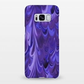 Galaxy S8+  Purple Faux Marble by Andrea Haase
