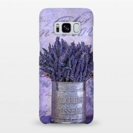 Galaxy S8+  Lavender Bouquet In Tin Can by Andrea Haase