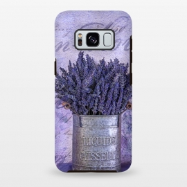 Galaxy S8 plus  Lavender Bouquet In Tin Can by