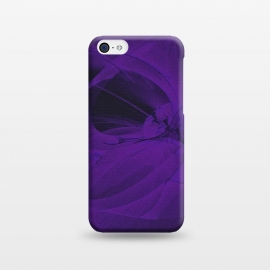 iPhone 5C  Purple Fractals by Andrea Haase