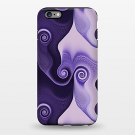iPhone 6/6s plus  Fancy Purple Spirals by Andrea Haase