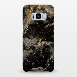 Galaxy S8+  Galaxy Black Gold by Gringoface Designs