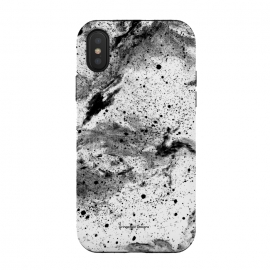 Marble Galaxy by Gringoface Designs (marble,galaxy,space,nebula,stone,natural elements,black and white,monochromatic,quartz,stars,galactic,gravity,sci-fi,science fiction,science,nerd,geek,books,star,universe,milky way,granite)