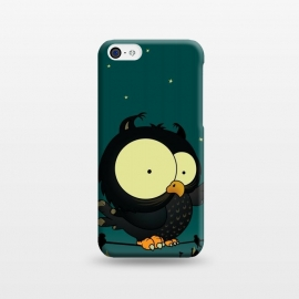 iPhone 5C  Little Owl by Mangulica