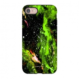 iPhone 8/7  Green Galaxy by Gringoface Designs