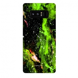 Galaxy Note 8  Green Galaxy by Gringoface Designs