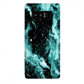 Galaxy Note 8  Iced Galaxy by Gringoface Designs