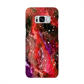 Red Galaxy by Gringoface Designs