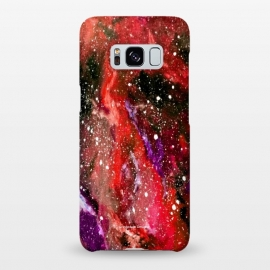 Galaxy S8+  Red Galaxy by Gringoface Designs