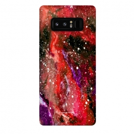Galaxy Note 8  Red Galaxy by Gringoface Designs