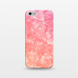 iPhone 5/5E/5s  Pink Mother of Pearl Pattern by Utart