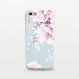 iPhone 5/5E/5s  Pastel Vintage Flower Dream by Utart