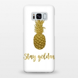 Galaxy S8+  Stay Golden Precious Pineapple by Andrea Haase