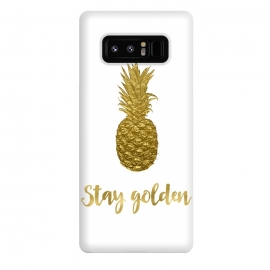 Galaxy Note 8  Stay Golden Precious Pineapple by