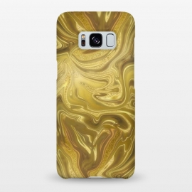 Galaxy S8+  Liquid Gold by Andrea Haase