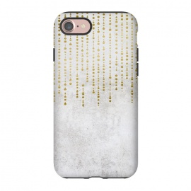 iPhone 8/7  Golden Rhinestone Embellishment by Andrea Haase