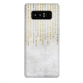 Galaxy Note 8  Golden Rhinestone Embellishment by Andrea Haase