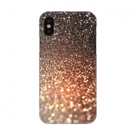 iPhone X  Cappuccino Glitter by Utart