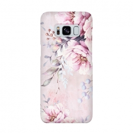 Galaxy S8  Vintage roses and Peonies by Utart