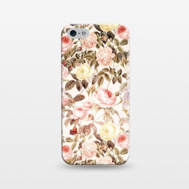 iPhone 5/5E/5s  Vintage Roses Pattern by Utart