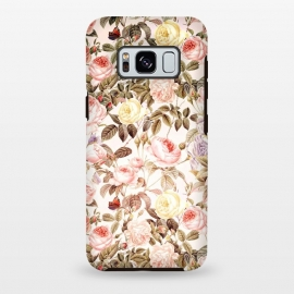Galaxy S8 plus  Vintage Roses Pattern by