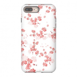 iPhone 8/7 plus  Cherry Flower (spring floral pattern) by Bledi