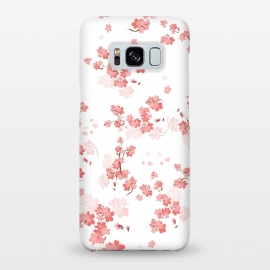 Galaxy S8+  Cherry Flower (spring floral pattern) by Bledi
