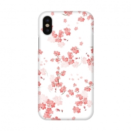 iPhone X  Cherry Flower (spring floral pattern) by Bledi