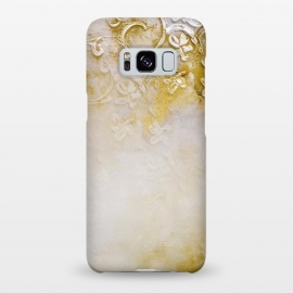 Galaxy S8+  Artwork Golden Texture by Andrea Haase
