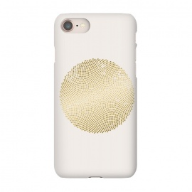 iPhone 8/7  Golden Ornament Off White by Andrea Haase