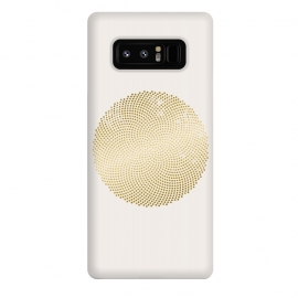 Galaxy Note 8  Golden Ornament Off White by Andrea Haase