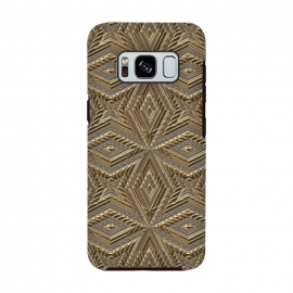 Galaxy S8  Golden Embossed Ornaments by Andrea Haase