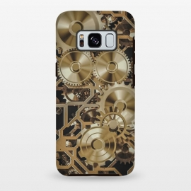 Galaxy S8+  Steampunk Gold by Andrea Haase