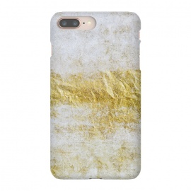 iPhone 8/7 plus  Concrete And Gold by Andrea Haase