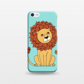 iPhone 5C  Lion by Coffee Man