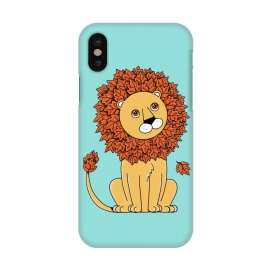iPhone X  Lion by Coffee Man