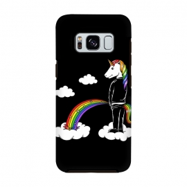 Galaxy S8  Unicorn Rainbow by Coffee Man