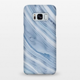 Galaxy S8+  Blue Marble Elegance by Andrea Haase