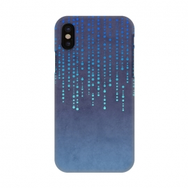 iPhone X  Blue Glamour by Andrea Haase