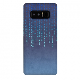 Galaxy Note 8  Blue Glamour by