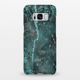 Galaxy S8+  Glamorous Turquoise Glitter by Andrea Haase