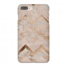 Marble Rosegold Chevron by Utart