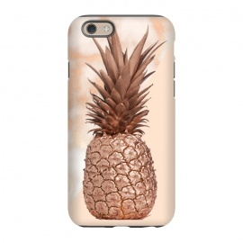 iPhone 6/6s  Sweet Copper Pineapple and Marble by Utart