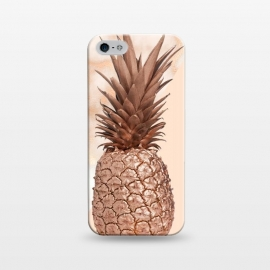 iPhone 5/5E/5s  Sweet Copper Pineapple and Marble by Utart