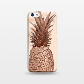 iPhone 5C  Sweet Copper Pineapple and Marble by Utart