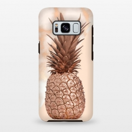 Galaxy S8+  Sweet Copper Pineapple and Marble by Utart