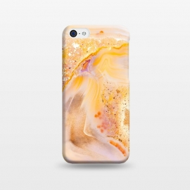 iPhone 5C  Rose Gold Agate by Utart